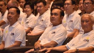 ประธานป.ป.ช. ร่วมงานวันต่อต้านคอร์รัปชันสากล (ประเทศไทย) กับนายกรัฐมนตรี