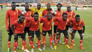 Umugwi Uganda Cranes mu mwaka uheze