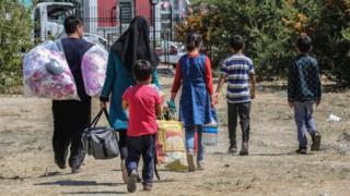 پناهنده ها در ترکیه