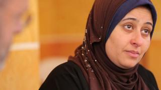 Iman Nasr Taha whose 17-year-old son Hamed Mohamed Hamed was on the boat that sank