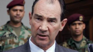 Patrick Duddy, exembajador de Estados Unidos en Venezuela.