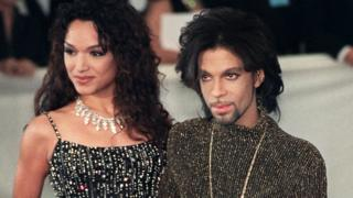 Mayte and Prince in 1999