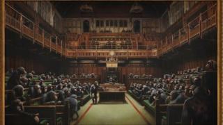 Британски парламент пун шимпанзи