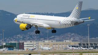 Vueling jet - file pic