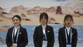 """中国第二届""""一带一路""""国际合作高峰论坛在北京开幕"""