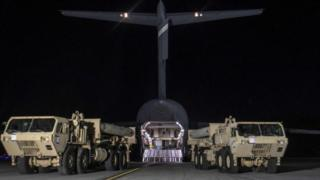 THAAD (Terminal High Altitude Area Defense) системасы