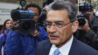 Former Goldman Sachs Group Inc board member Rajat Gupta arrives at Manhattan Federal Court in New York, in this file photo taken October 24, 2012