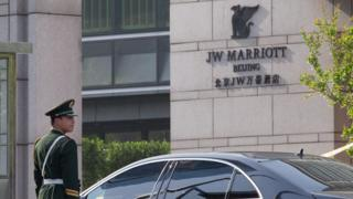 JW Marriott in Beijing 2012