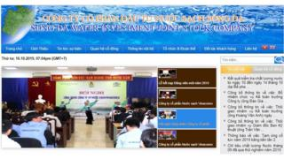 Công ty CP đầu tư nước sạch Sông Đà