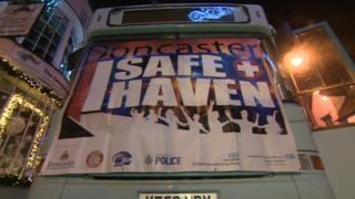 Doncaster Safe Haven bus