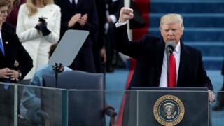 Trump at Inauguration