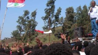 Le leader de l'opposition Oromo, Merera Gudina, qui a été arrêté en Ethiopie, venait de revenir d'une séance d'information au Parlement européen sur l'état d'urgence actuel dans le pays.