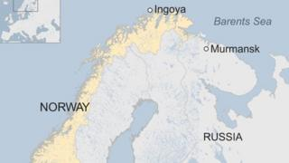 Norway finds 'Russian spy whale' off Arctic coast