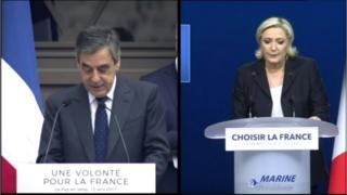 """Bài phát biểu của bà Le Pen và ông Fillion đều có đoạn về """"ba biên giới hàng hải"""""""