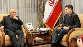 الکساندر نواک، وزیر انرژی روسیه و بیژن زنگنه، وزیر ایران