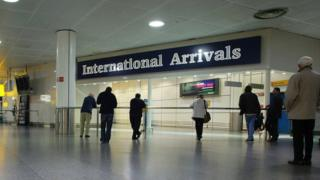 International Arrivals at Gatwick