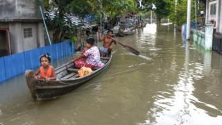 ဒုတိယရေကြီးကာလဖြစ်တဲ့ သြဂုတ်လကုန်အထိကို အဓိက မြစ်ကြီးတွေ မှာ မြစ်ရေမြင့်တက်လာနိုင်တဲ့အခြေအနေတွေရှိနေ