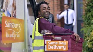 Sainsbury's shoppers will receive their goods in six hours if they order by 12pm