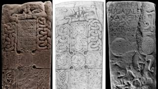 Pictish carved beasts 'unlike anything found before'