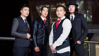 The Slants rock band