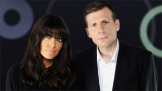 Claudia Winkleman and Danny Leigh