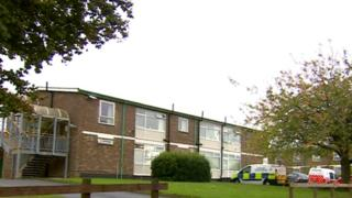 Thurn Court care home on Thurncourt Road, Leicester