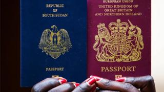 South Sudan passport