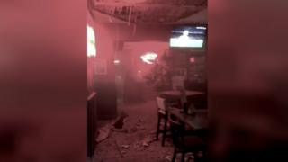 Damage to Alex pub in Southend