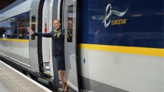 2014年,歐洲之星的新客車投入運行