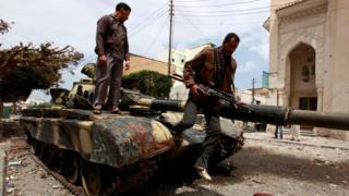 تعد مصراتة من أكثر المدن الليبية أمنا نسبيا بسبب مليشياتها القوية