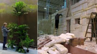 Aztec zone being built