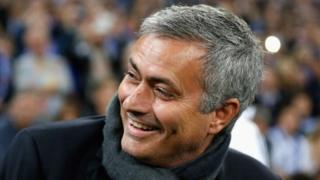 """Mourinho avait quitté les """"Blues"""" en 2015 après avoir remporté son troisième titre de champion d'Angleterre."""