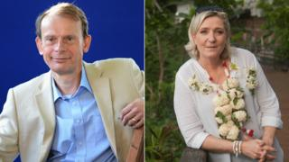 Andrew Marr and Marine Le Pen