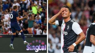 Harry Kane ati Cristiano Ronaldo