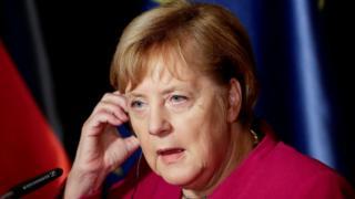 German Chancellor Merkel, 26 October 2018