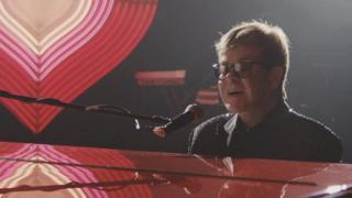 Sir Elton John in the John Lewis Christmas advert