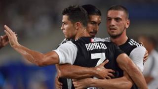 Juventuslu futbolcular