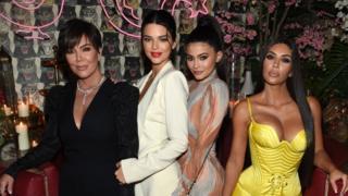 Kardashian family members