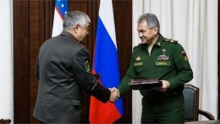 Rossiya va Oʻzbekiston Qurolli Kuchlari