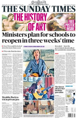 The Sunday Times 19 April 2020
