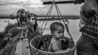 与缅甸毗邻的孟加拉,已经接收了数十万难民