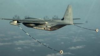A KC-130 aircraft. File photo