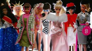 First launched at the New York Toy Show in 1959, Barbie has now become the largest selling toy ever produced.