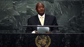 Perezida Museveni wa Uganda ari ku butegetsi guhera mu mwaka wa 1986