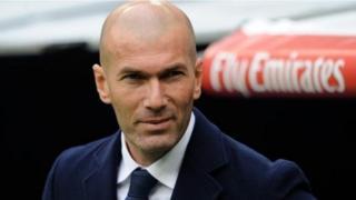 Mkufunzi wa Real madrid Zinedine Zidane