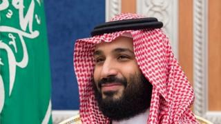 Saudi Crown Prince Mohammed Bin Salman, 16 October 2018