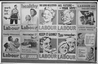 Лейбористські плакати 1950 року