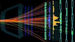 กราฟฟิกอนุภาคที่ถูกค้นพบใหม่