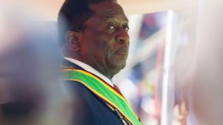 Tổng thống Zimbabwe Emmerson Mnangagwa