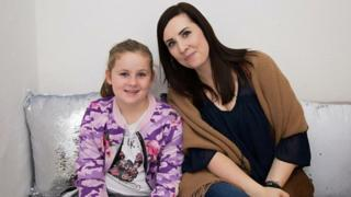 Helen Owen and her daughter Olivia